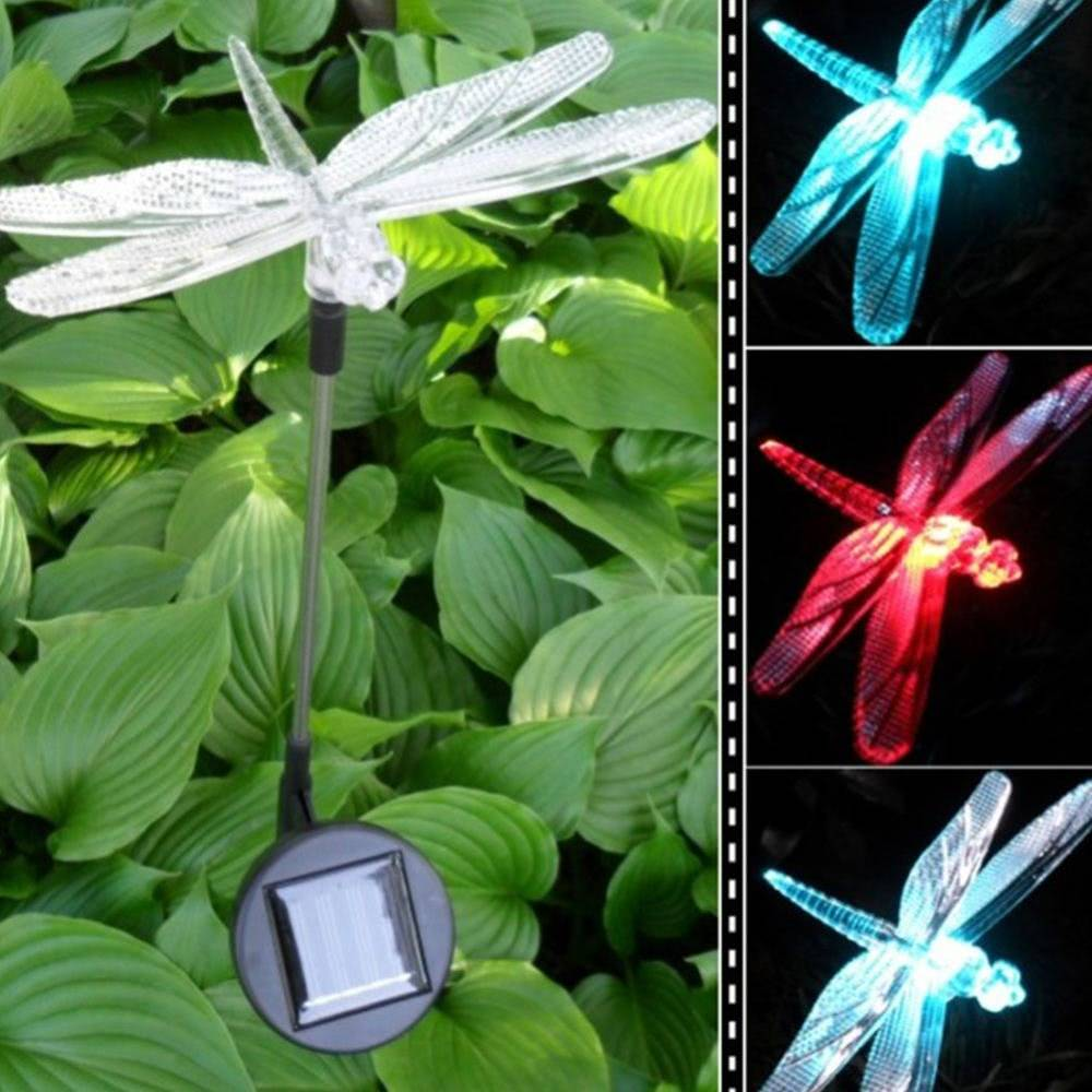 LED-Solar-Light-Outdoor-Dragonfly-Butterfly-Bird-Type-Solar-Lamp-Plastic-Outdoor-LED-Solar-Garden-Light